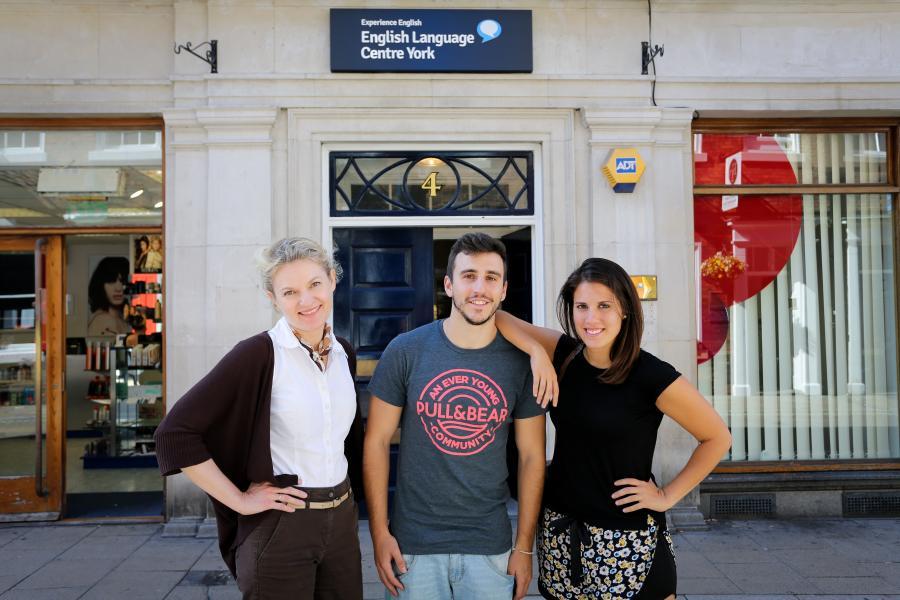 Центр Experience English в Йорке