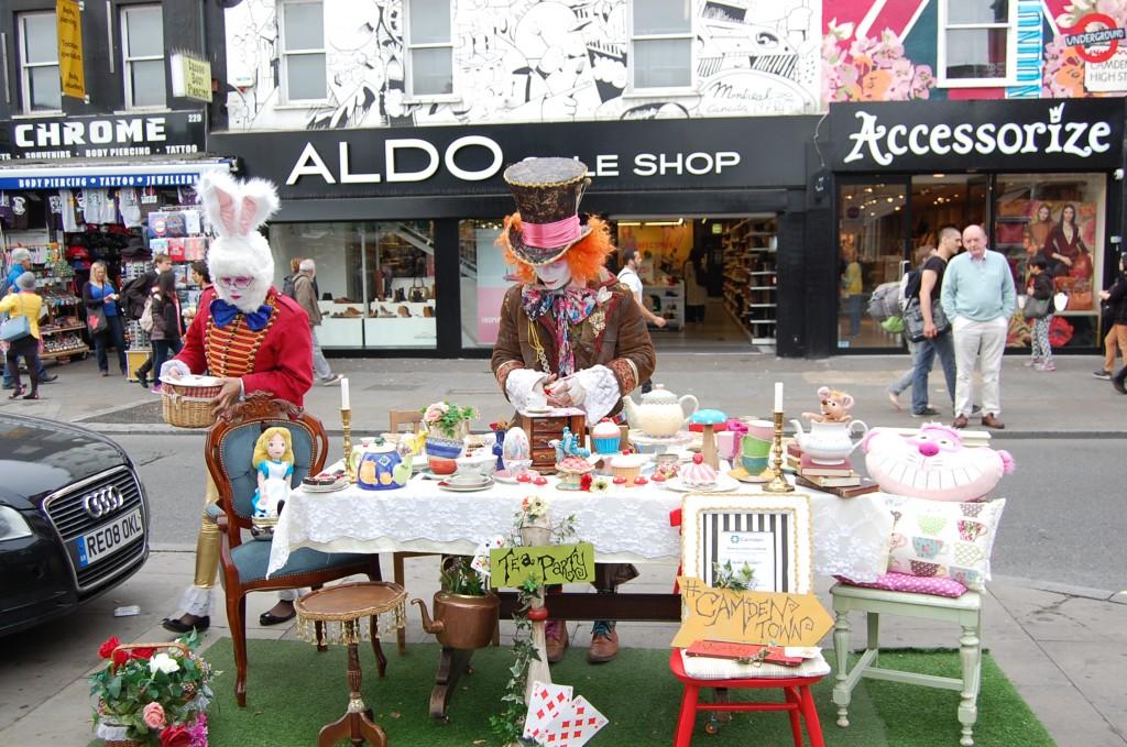 Ярмарка на Camden Town