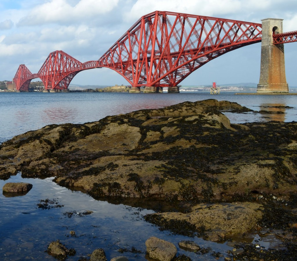 Tour Scotland Photograph Forth Railway Bridge Firth Of Forth March 3rd