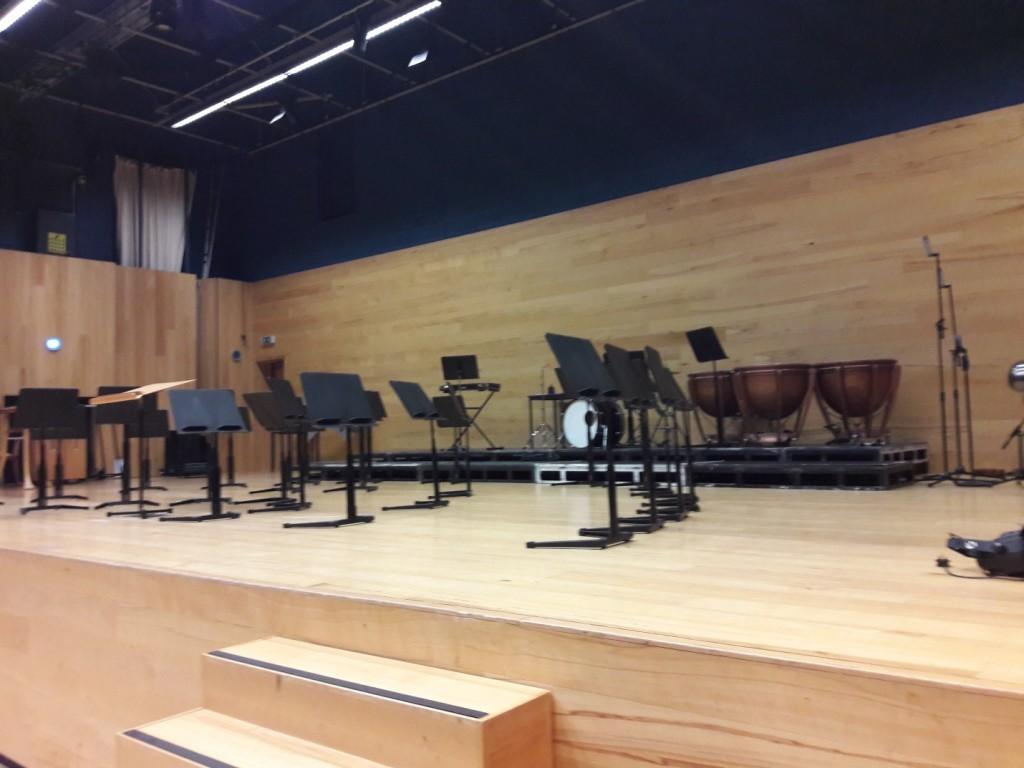Сцена актового зала