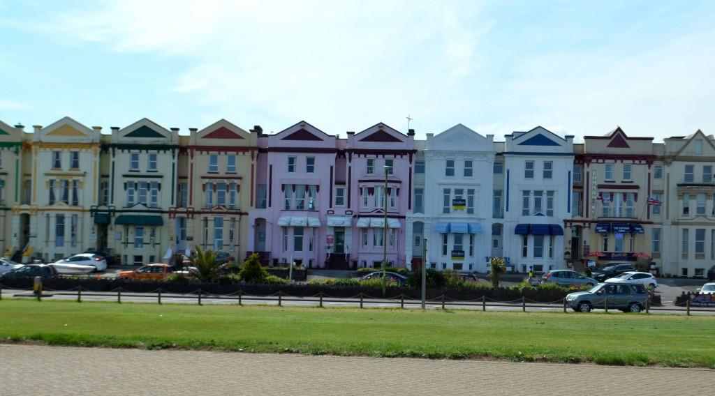 Цветные домики Пейнтона