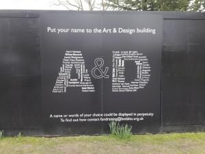 Строительство нового Arts and Design department