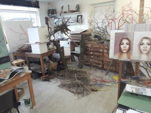 Art department изнутри