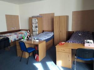 Условия проживания в комнатах