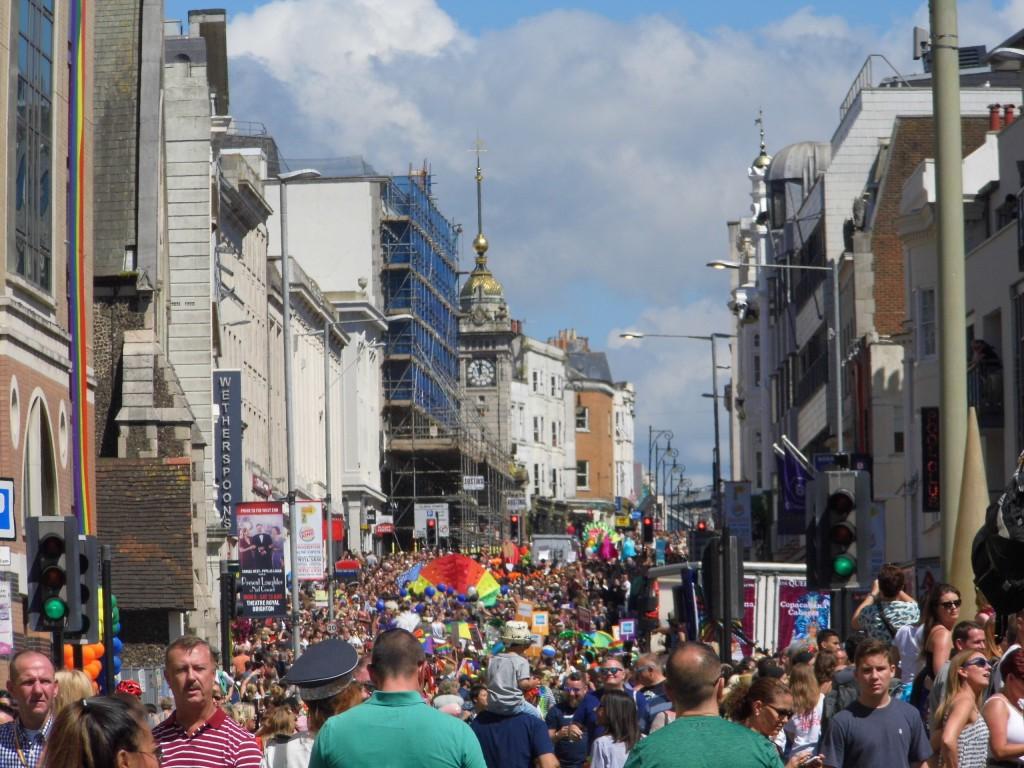 Gay Pride 2016, Brighton, The Clock Tower