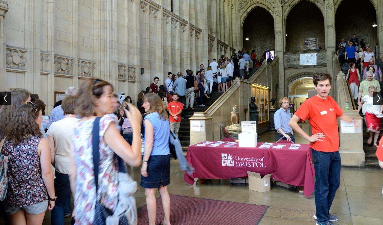 День открытых дверей, University of Bristol