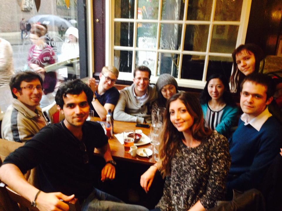 С одногруппниками в Оксфорде