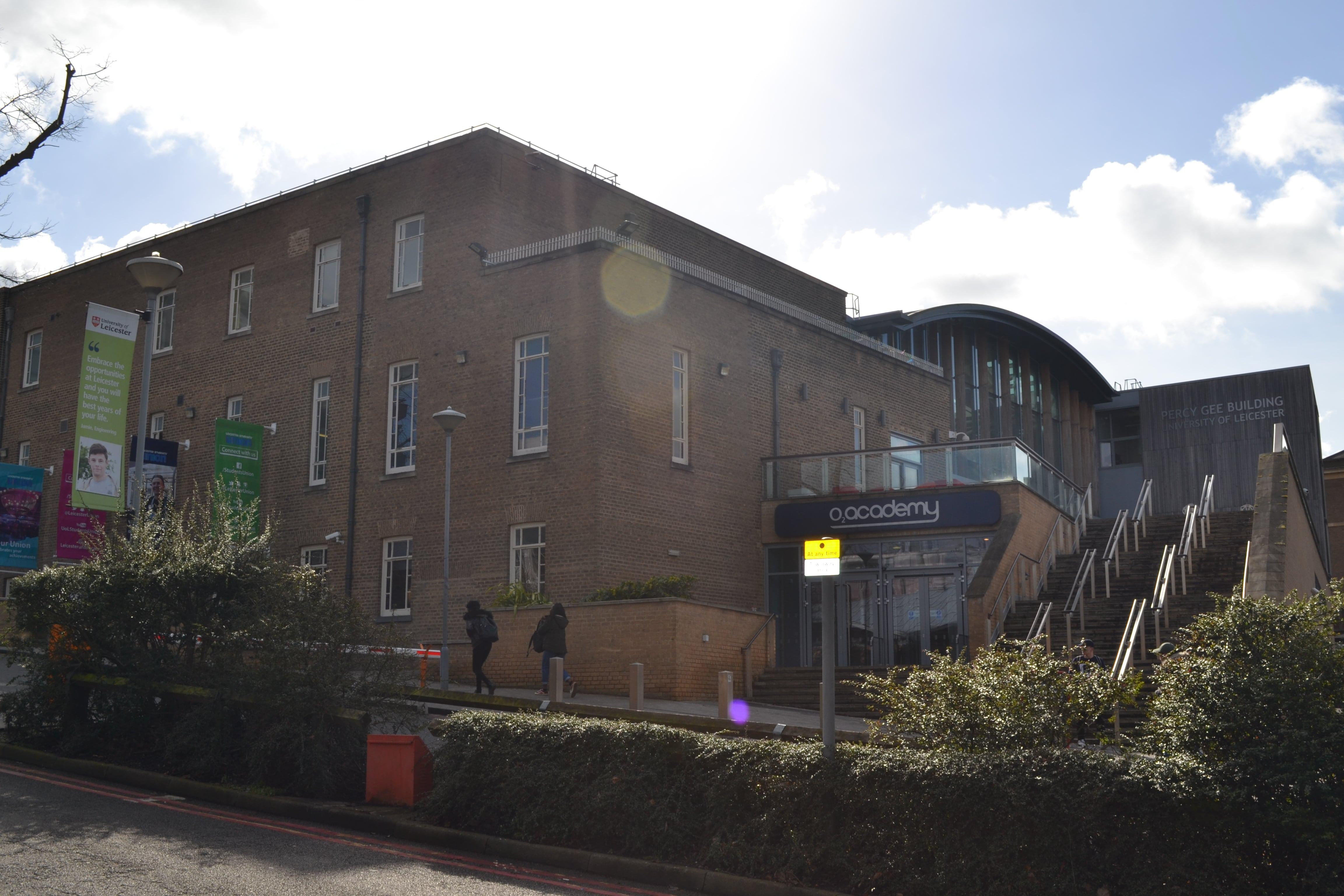 Здание O2 Academy или Students' Union.
