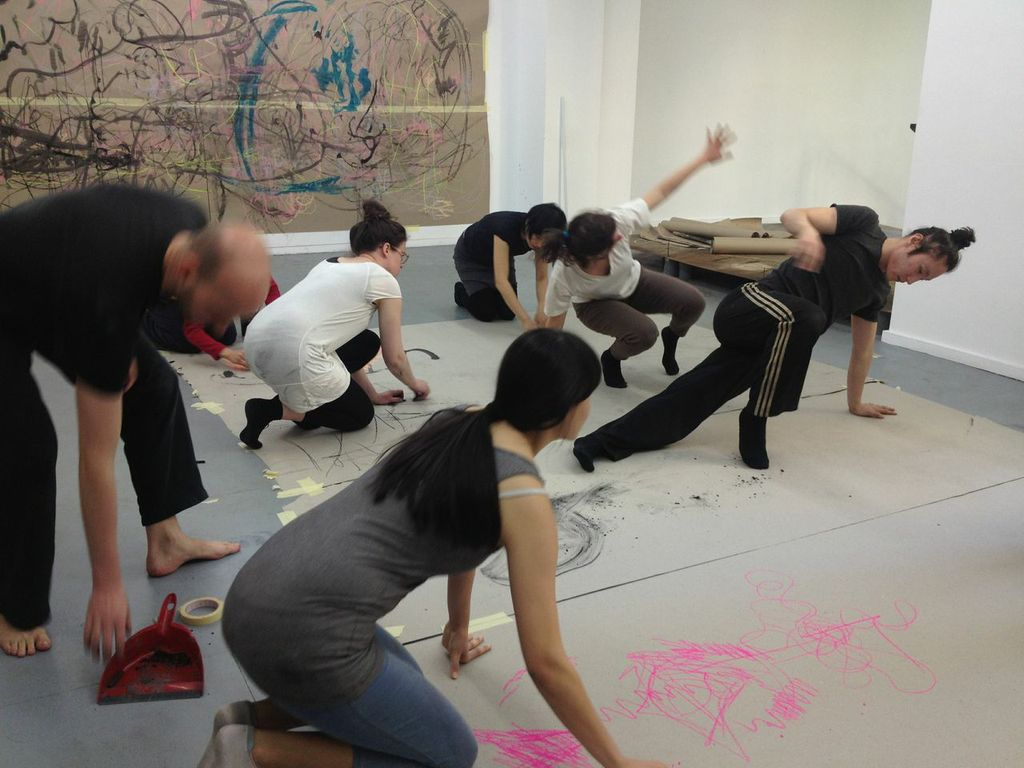 Drawing Dance Workshop