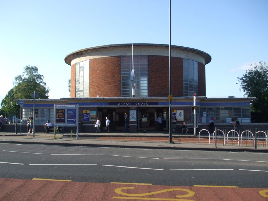 станция Arnos Grove
